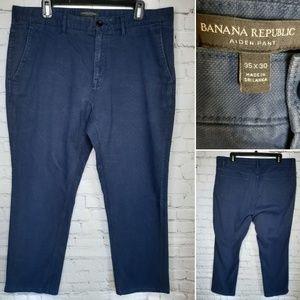 Men's Banana Republic Aiden pant size 35/30